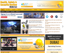 Health, Safety and Security Review Middle East - The region's leading resource for the Health, Safety, Security & Fire Protection industries