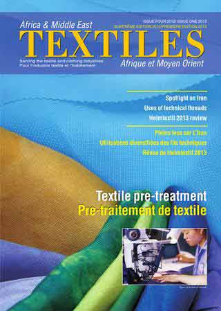 Africa and Middle East Textiles - Issue 1/2013