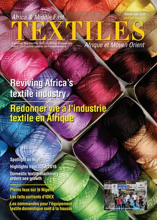Africa and Middle East Textiles - Issue 1/2016