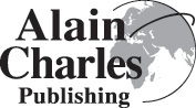 Alain Charles is a leading international publishing house logo
